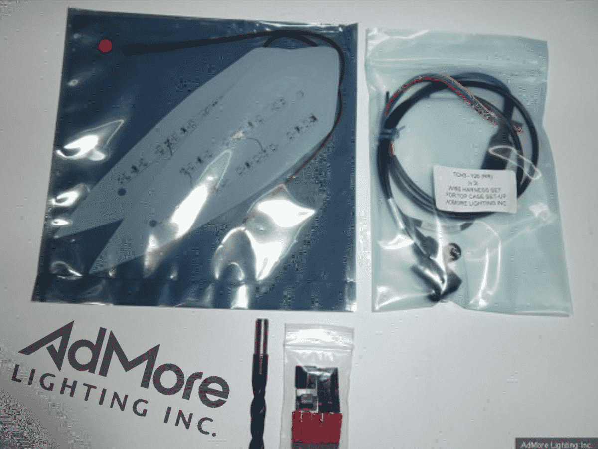 Top Mounts Admore Lighting Inc Wiring Diagram Suzuki 48l Case Led Kit Ts
