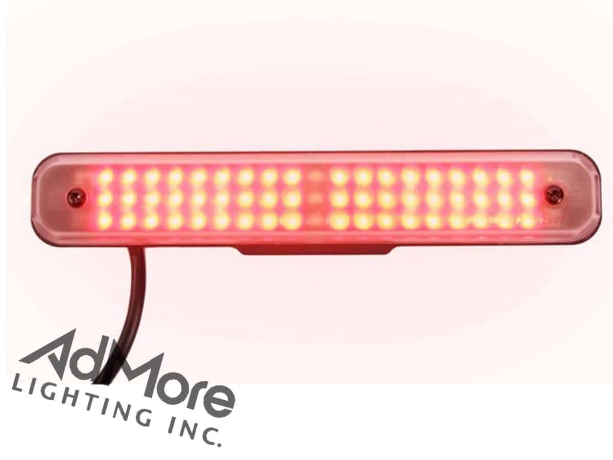 Motorcycle deceleration light bar admore lighting inc admore lightbar aloadofball Choice Image
