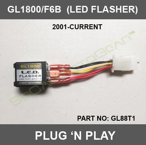 GL1800/F6B LED FLASHER - AdMore Lighting Inc. on 1981 honda gl1100 goldwing wiring, honda gl1200 wiring-diagram, honda goldwing 1800 diagram,