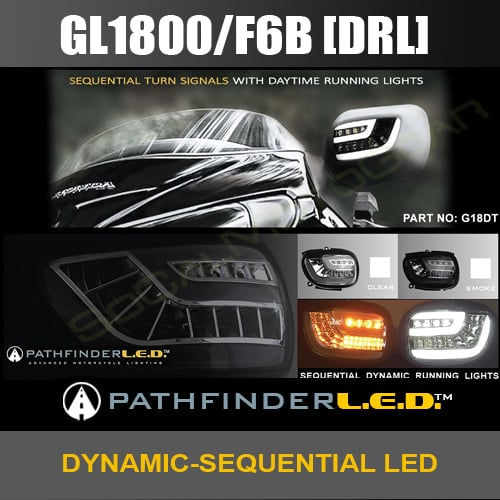 Honda Gold Wing Dynamic-Sequential front LED indicators