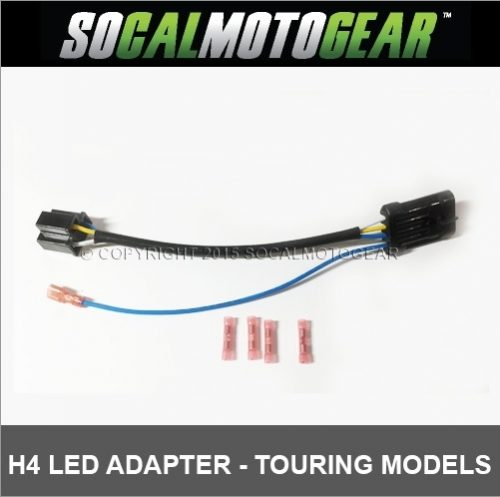H4 LED Adapter - Touring Model