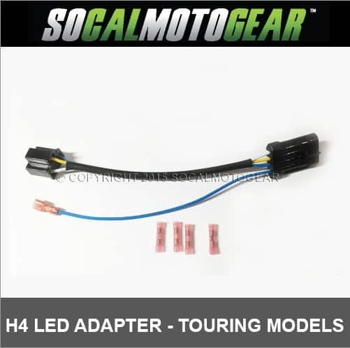 H4 LED HEADLAMP WIRING HARNESS H Wiring Harness Adapter Diagram on