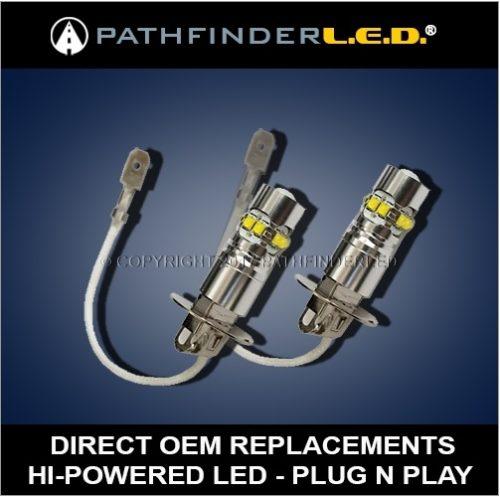 H3C LED - Harley Passing Lights - 50W - Pair