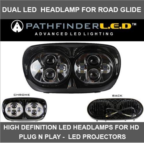 LED Headlamps for HD Plug N Play - LED Projectors