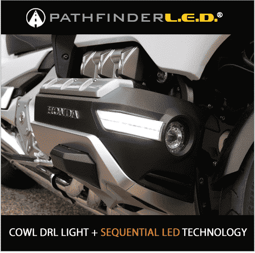 COWL LIGHTS WITH DRL + SEQUENTIAL LED TURN SIGNALS