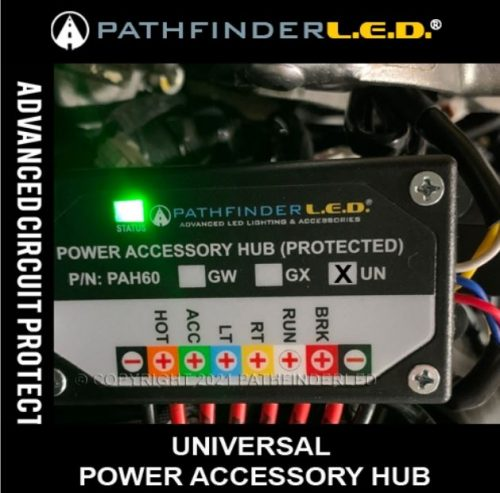 Power Distribution Accessory Hub for Powersports